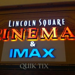 Photo taken at Lincoln Square Cinemas by Yatharth G. on 11/19/2012