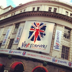 Photo taken at Piccadilly Theatre by Var V. on 4/27/2013