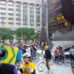 Photo taken at Daley Plaza by Gary S. on 9/28/2012
