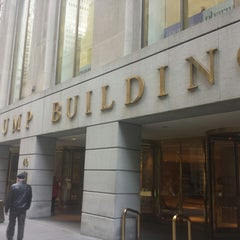 Photo taken at Trump Building by Linda :. on 10/26/2014