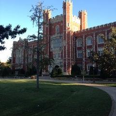 Photo taken at University of Oklahoma by James G. on 10/5/2013