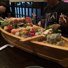 Photo taken at Fuji Sushi by Jessica C. on 1/4/2015