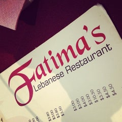 Photo taken at Fatima Lebanese Restaurant by Willy C. on 12/18/2013
