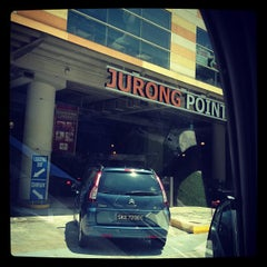 Photo taken at Jurong Point by Vicky S. on 10/26/2012