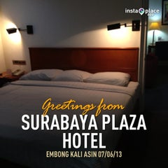 Photo taken at Surabaya Plaza Hotel by R Bg Sigit W. on 6/7/2013
