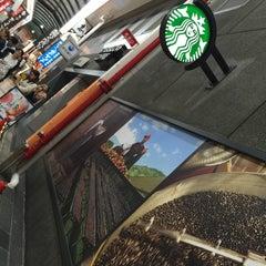 Photo taken at Starbucks Coffee なんば南海通店 by YAS T. on 7/18/2015