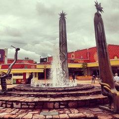 Photo taken at Plaza del Sol by José Manuel P. on 9/16/2013