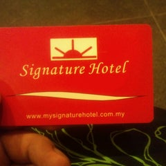 Photo taken at Signature Hotel by Afeezudean H. on 10/3/2013