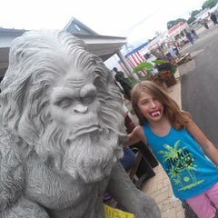 Photo taken at Stark County Fairgrounds by Christopher S. on 8/31/2014