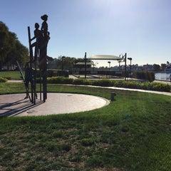 Photo taken at Leo J Ryan Memorial Park by Barbara B. on 10/29/2015