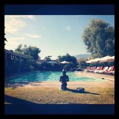 Photo taken at Colony Palms Hotel by Jana S. on 9/20/2012