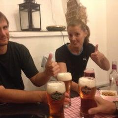 Photo taken at Café 04 by Jakub E. on 6/25/2014