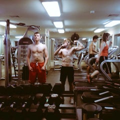 Photo taken at Planet Fitness by Ілля К. on 5/24/2015