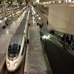 Photo taken at Estación de Zaragoza - Delicias by May T. on 2/6/2013