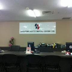 Photo taken at Singapore Safety Driving Centre (SSDC) by Muhammad Saifuldin R. on 10/31/2012