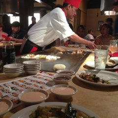 Photo taken at Kanki Japanese House of Steaks & Sushi by Amy J. on 6/15/2013