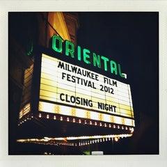 Photo taken at Oriental Theatre by Jo on 10/12/2012