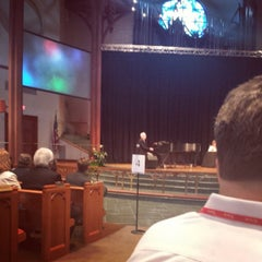 Photo taken at First United Methodist Church Richardson by Christopher E. on 6/2/2014