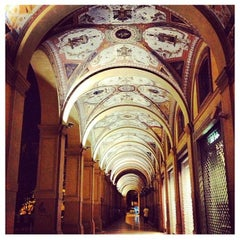 Photo taken at Via Farini by Associazione Succede solo a B. on 8/16/2013