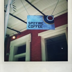 Photo taken at Spitfire Coffee by Nadine B. on 2/15/2013