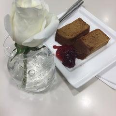 Photo taken at Lufthansa Business Lounge by Nina P. on 12/21/2014