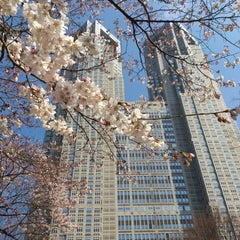 Photo taken at 新宿中央公園 (Shinjuku Central Park) by marlo on 3/15/2013