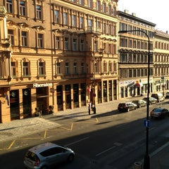 Photo taken at Hotel Suite Home Prague by Andre S. on 8/3/2013