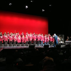 Photo taken at Harris Theatre for Music and Dance by Kenneth O. on 2/9/2013