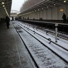 Photo taken at Метро Фили (metro Fili) by Danila L. on 12/18/2012
