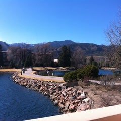 Photo taken at The Broadmoor by Jamal A. on 3/9/2012