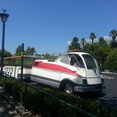 Photo taken at Mickey & Friends Tram by Jesse H. on 8/25/2012