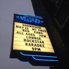 Photo taken at Hawthorne Theatre by Brandy R. on 5/26/2012