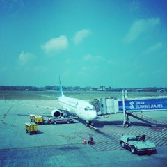 Photo taken at Sultan Mahmud Badaruddin II International Airport (PLM) by Amran A. on 9/1/2012