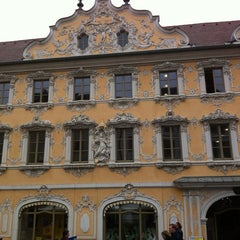 Photo taken at Stadtbücherei by Erich S. on 4/5/2012