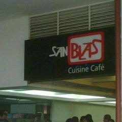 Photo taken at San Blas Cuisine Café by Cristhian G. on 5/17/2012
