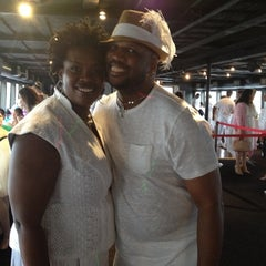 Photo taken at Half Moon Party Boat by Ashanti A. on 6/13/2012