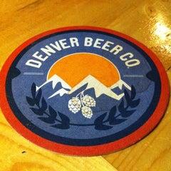 Photo taken at Denver Beer Co. by Liz T. on 3/26/2012