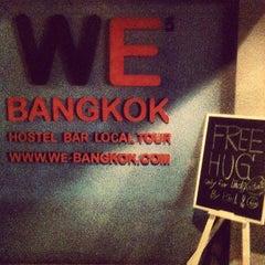 Photo taken at WE Bangkok Hostel by Gadiy L. on 9/13/2012