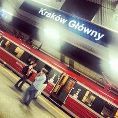 Photo taken at Kraków Główny by Kamil J. on 8/31/2012