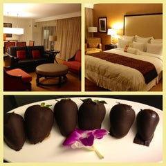 Photo taken at Napa Valley Marriott Hotel & Spa by Luxe Adventure T. on 5/12/2012