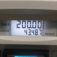 Photo taken at Shell by Larry S. on 3/3/2012