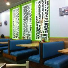 Photo taken at Kerbey Lane Café by Charlie D. on 7/3/2012
