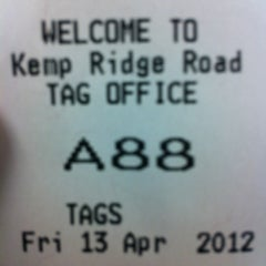 Photo taken at Cobb County Tag Office - Acworth by Katie L. on 4/13/2012
