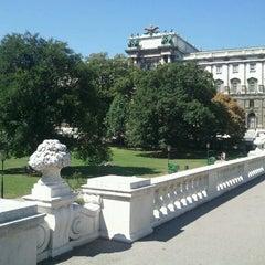 Photo taken at Burggarten by Martin W. on 8/19/2012