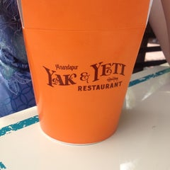 Photo taken at Yak & Yeti Local Foods Cafe by Caleb S. on 8/30/2012