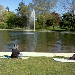 Photo taken at Wilcox Park by Deana S. on 5/13/2012