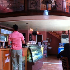 Photo taken at Myrna's Bake House - Pasonanca by Liezl A. on 5/7/2012