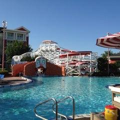 Photo taken at Disney's Boardwalk Villas by Russ S. on 4/3/2012