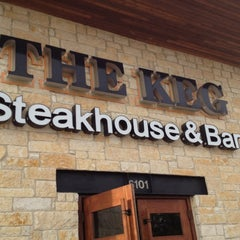 Photo taken at The Keg Steakhouse & Bar by Christopher P. on 8/7/2012