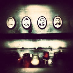 Photo taken at Terror Háza | House of Terror Museum by Michael B. on 3/13/2012